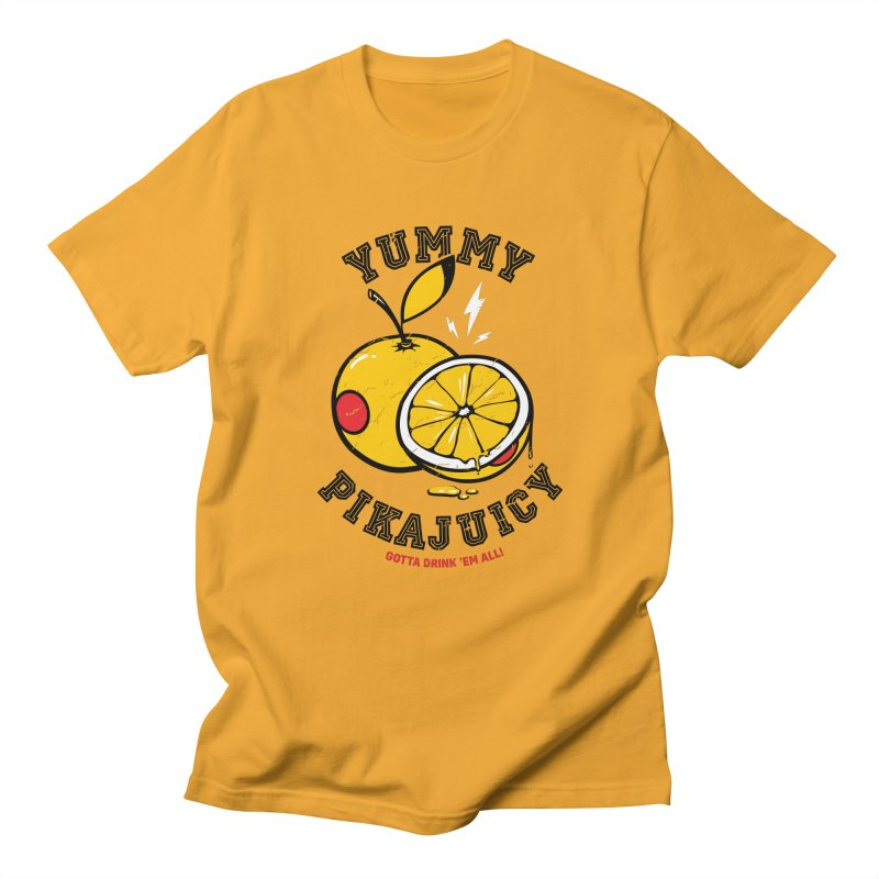 Pikajuicy Women's Unisex T-Shirt by dracoimagem's Artist Shop