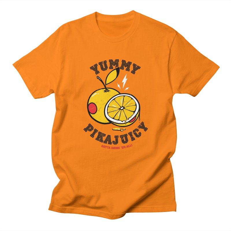 Pikajuicy Women's Unisex T-Shirt by dracoimagem's Artist Shop