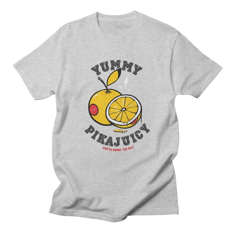 Pikajuicy Men's T-shirt by dracoimagem's Artist Shop