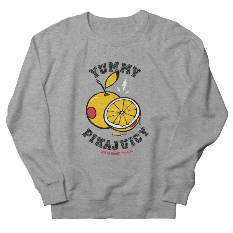 Pikajuicy Men's Sweatshirt by dracoimagem's Artist Shop