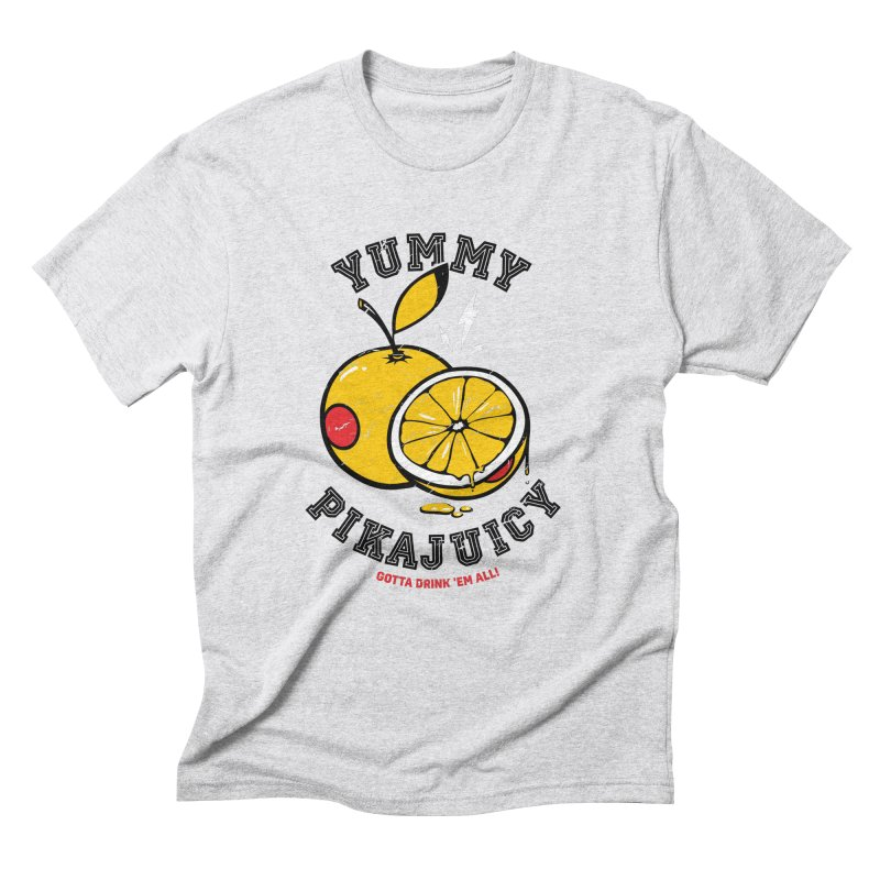 Pikajuicy Men's Triblend T-Shirt by dracoimagem's Artist Shop