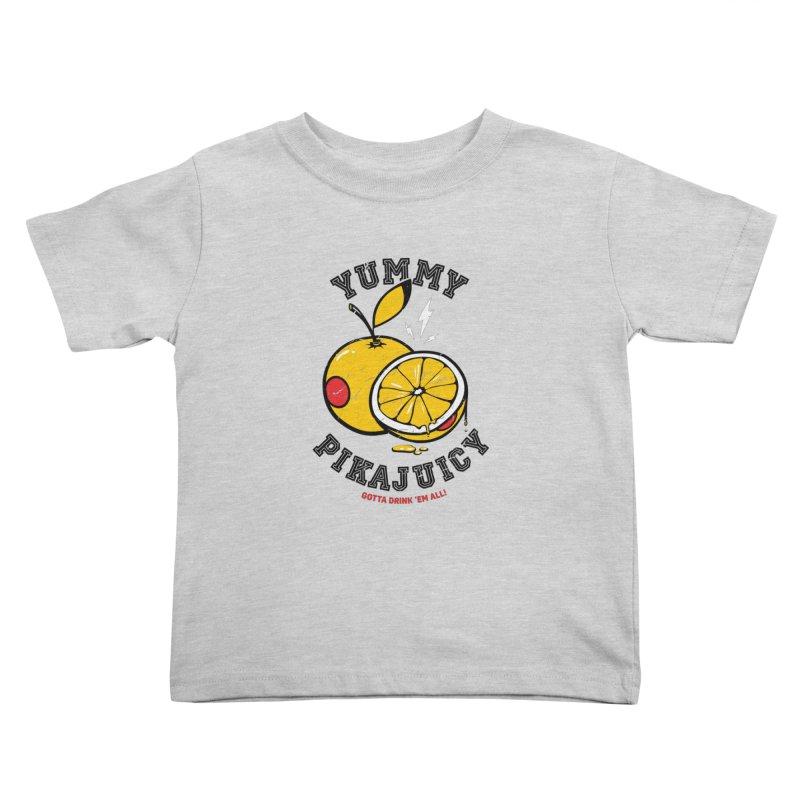 Pikajuicy Kids Toddler T-Shirt by dracoimagem's Artist Shop