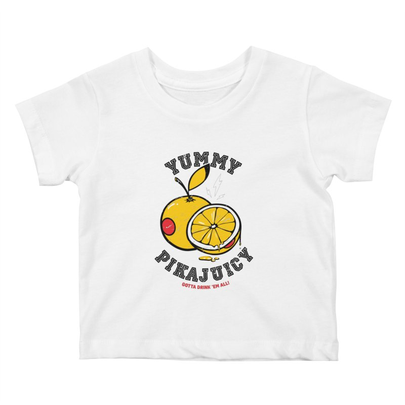Pikajuicy Kids Baby T-Shirt by dracoimagem's Artist Shop