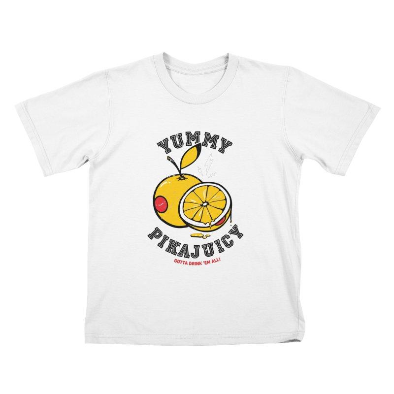 Pikajuicy Kids T-shirt by dracoimagem's Artist Shop