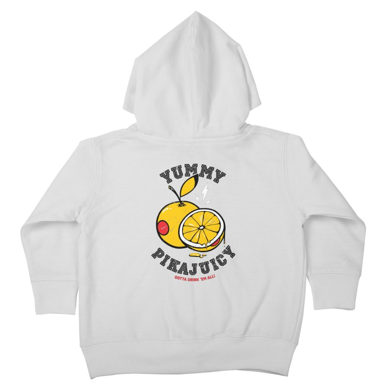 Pikajuicy Kids Toddler Zip-Up Hoody by dracoimagem's Artist Shop