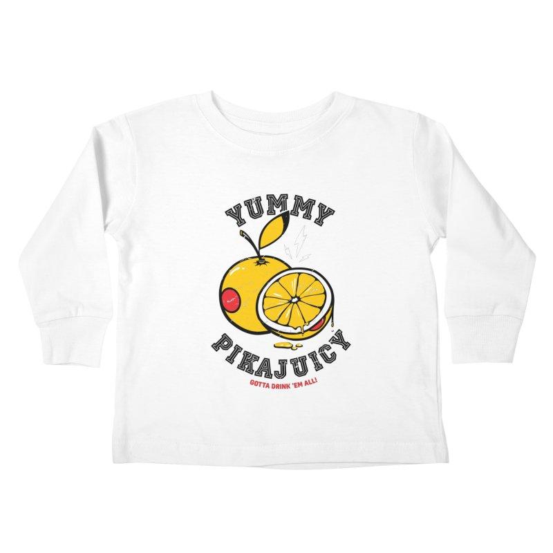 Pikajuicy Kids Toddler Longsleeve T-Shirt by dracoimagem's Artist Shop