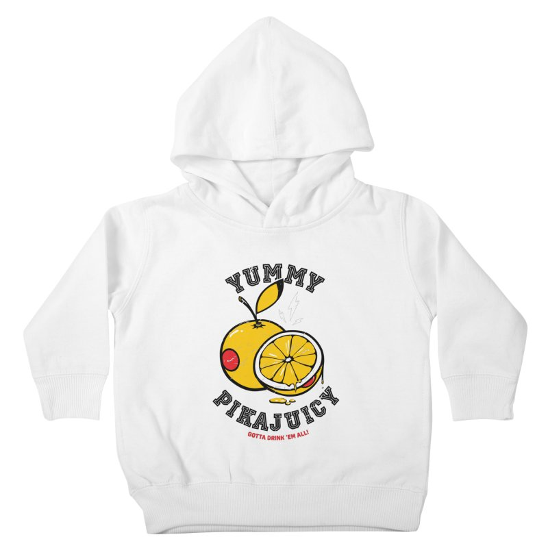 Pikajuicy Kids Toddler Pullover Hoody by dracoimagem's Artist Shop