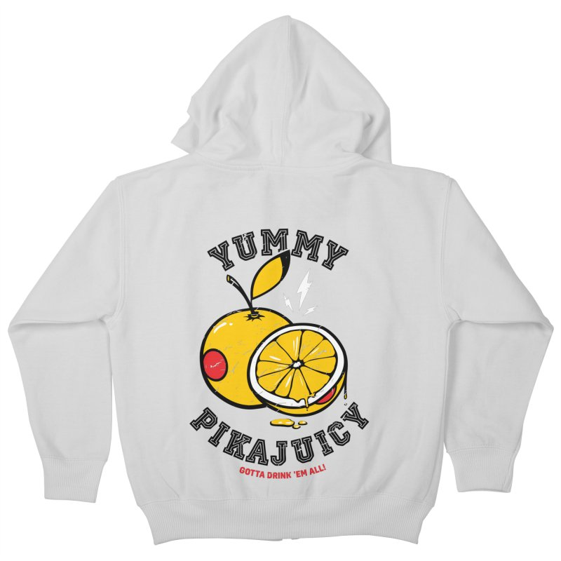 Pikajuicy Kids Zip-Up Hoody by dracoimagem's Artist Shop
