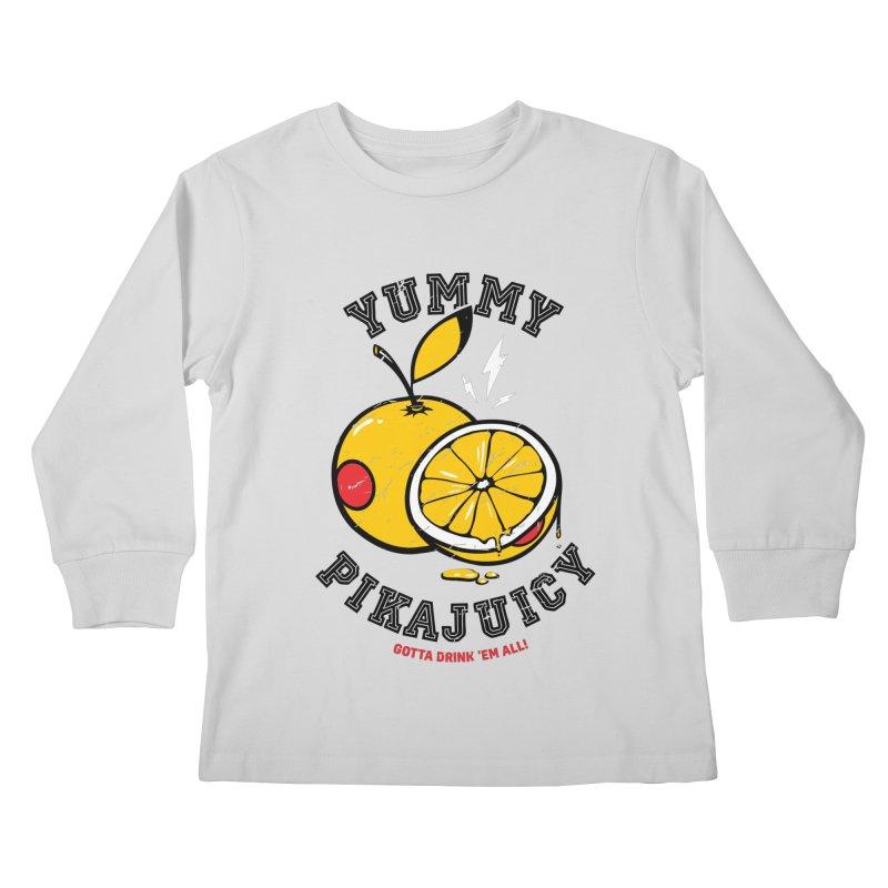 Pikajuicy Kids Longsleeve T-Shirt by dracoimagem's Artist Shop