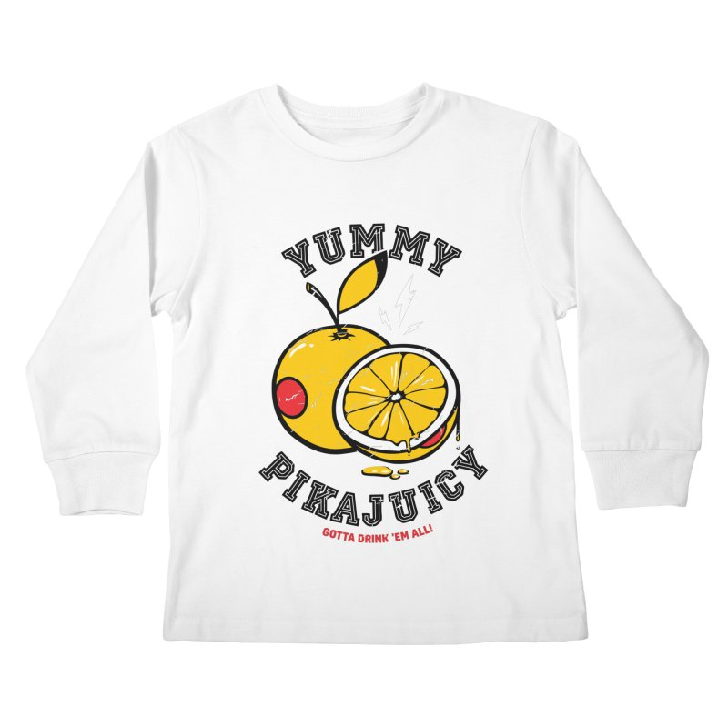 Pikajuicy Kids Longsleeve T-Shirt by dracoimagem's Artist Shop