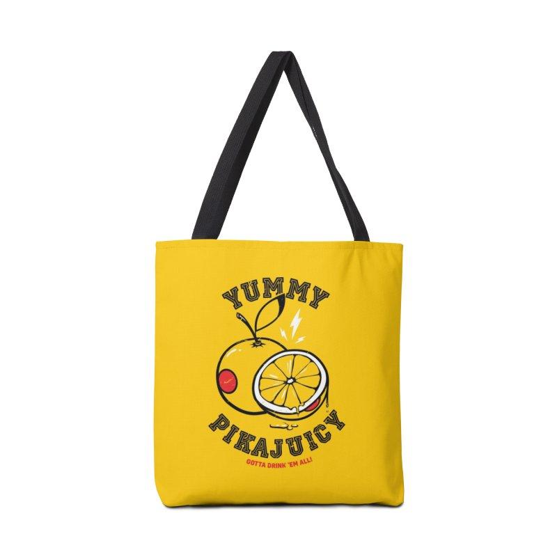 Pikajuicy Accessories Bag by dracoimagem's Artist Shop