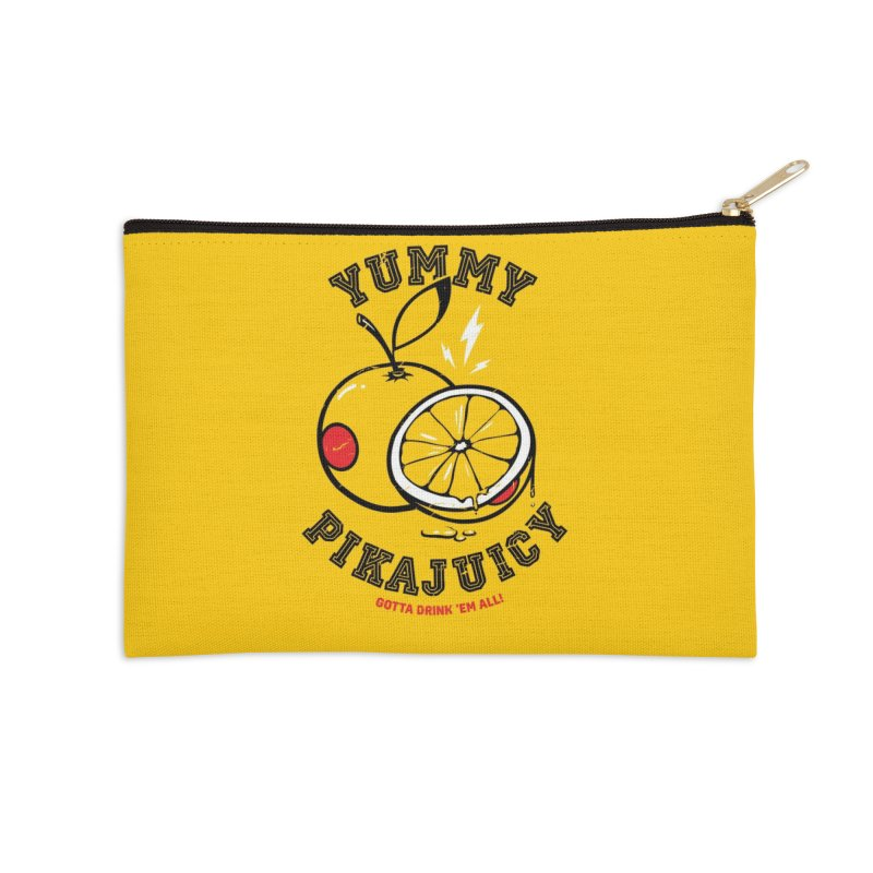 Pikajuicy Accessories Zip Pouch by dracoimagem's Artist Shop