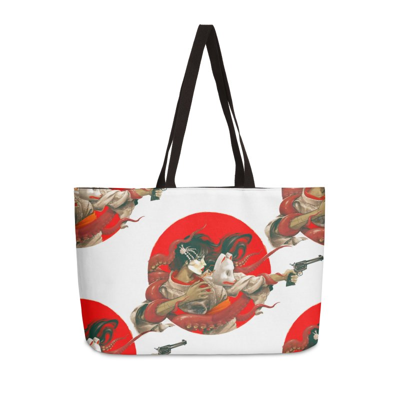 Tokyo Extreme Part 2 Accessories Bag by dracoimagem's Artist Shop