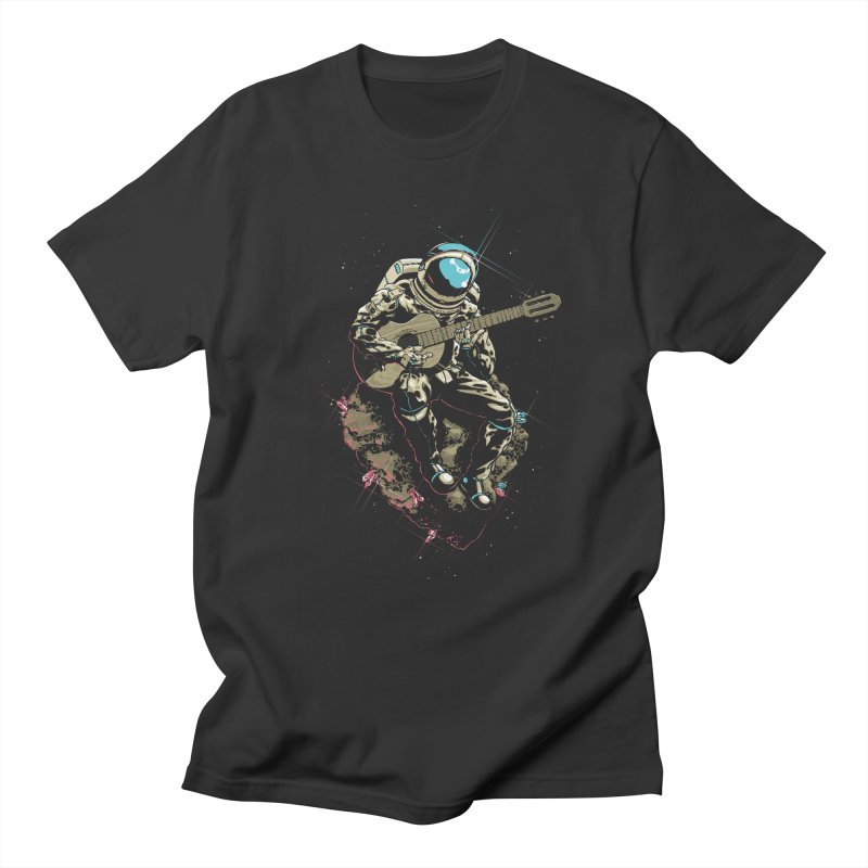 Lonely Man in Men's T-shirt Smoke by dracoimagem's Artist Shop