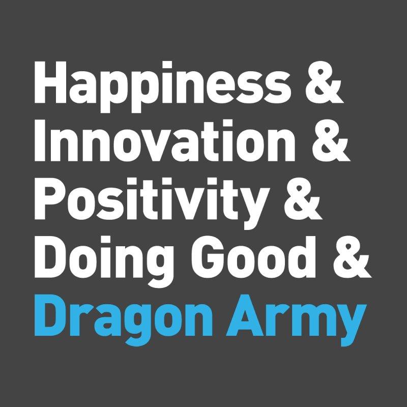 WhatDragonsDo Typography Men's T-Shirt by Dragon Army Gear