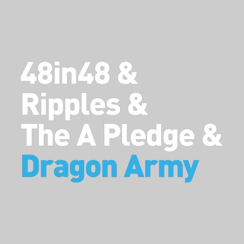 WhatOurChiefDragonDoes Typography V2 Men's T-Shirt by Dragon Army Gear