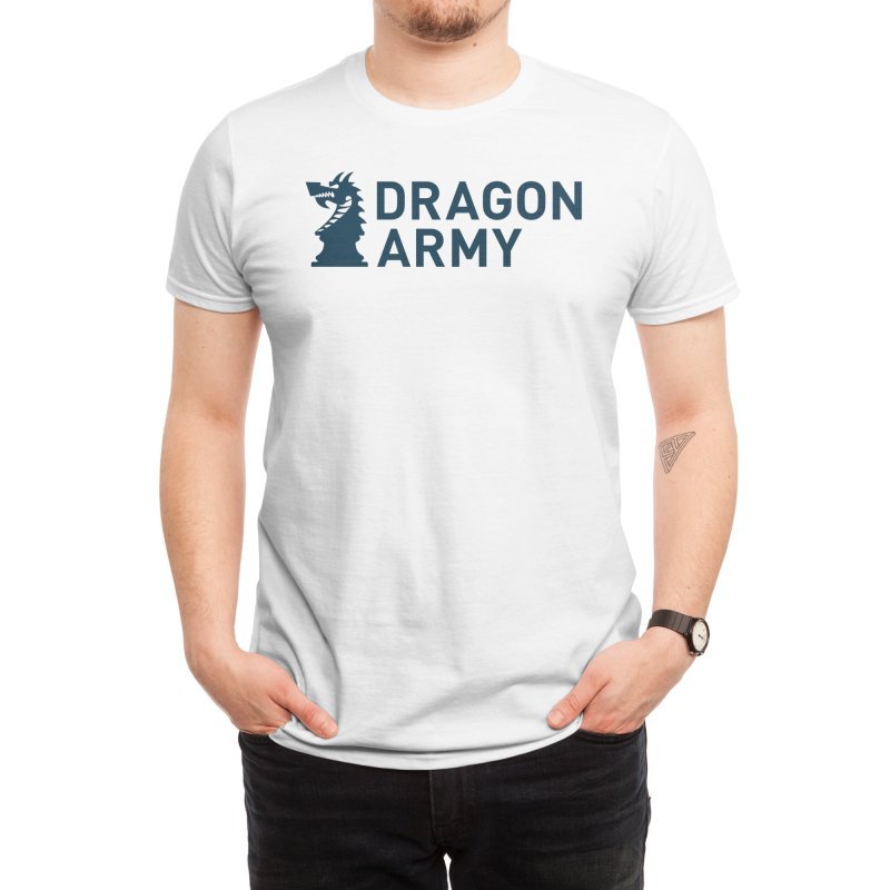 Classic - Dark Men's T-Shirt by Dragon Army Gear
