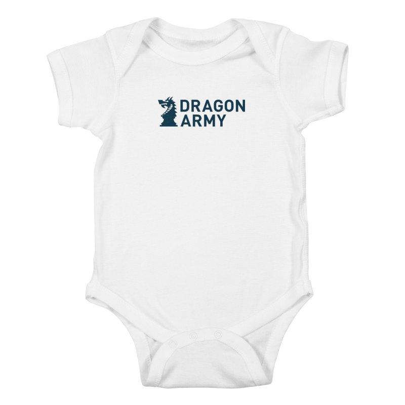 Classic - Dark Kids Baby Bodysuit by Dragon Army Gear