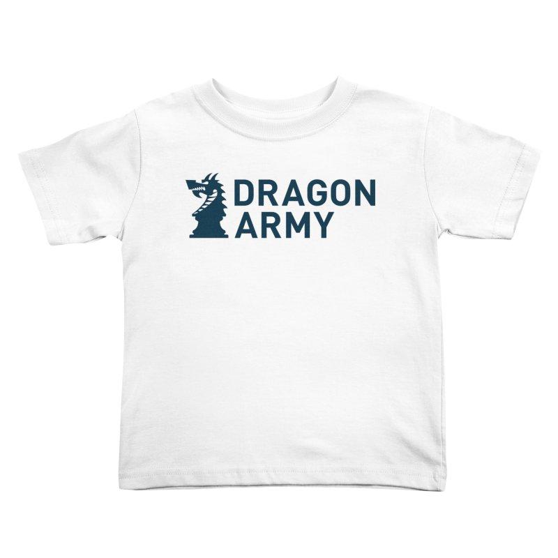 Classic - Dark Kids Toddler T-Shirt by Dragon Army Gear