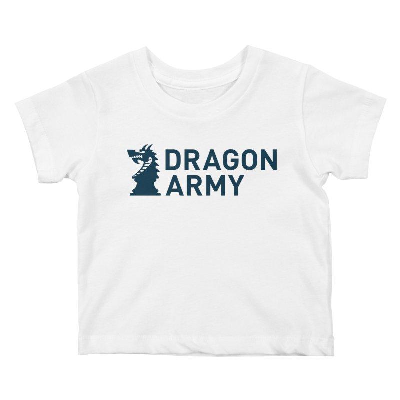 Classic - Dark Kids Baby T-Shirt by Dragon Army Gear