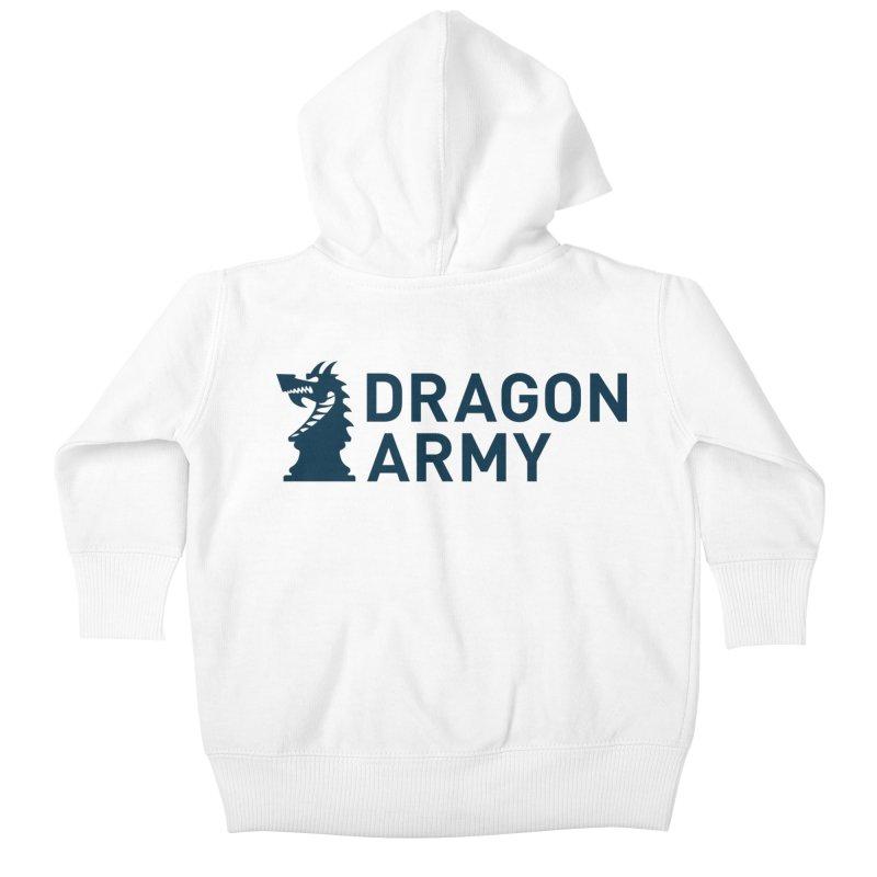 Classic - Dark Kids Baby Zip-Up Hoody by Dragon Army Gear
