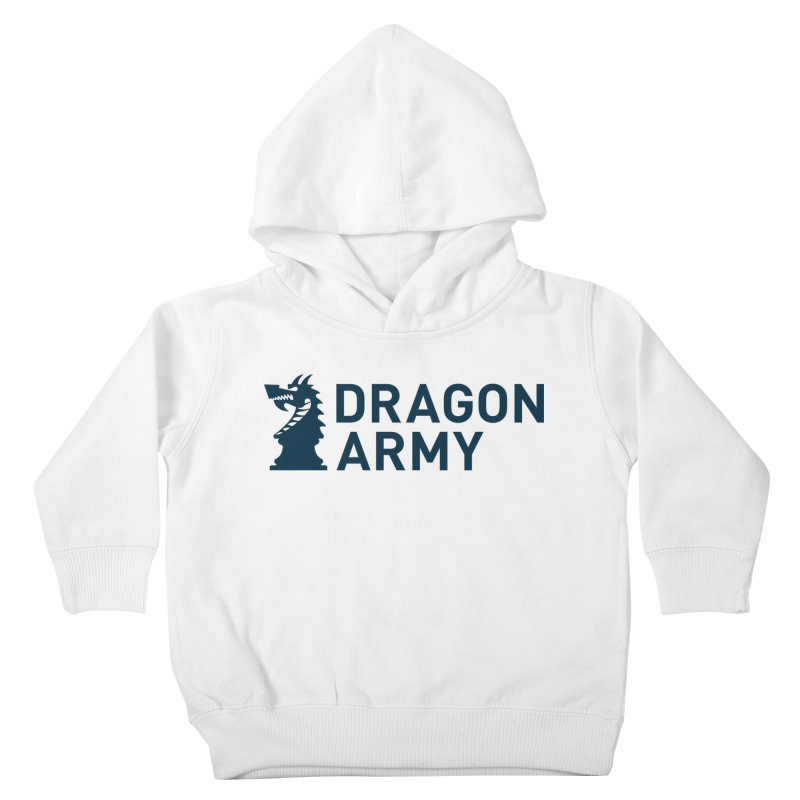 Classic - Dark Kids Toddler Pullover Hoody by Dragon Army Gear