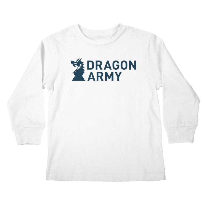 Classic - Dark Kids Longsleeve T-Shirt by Dragon Army Gear
