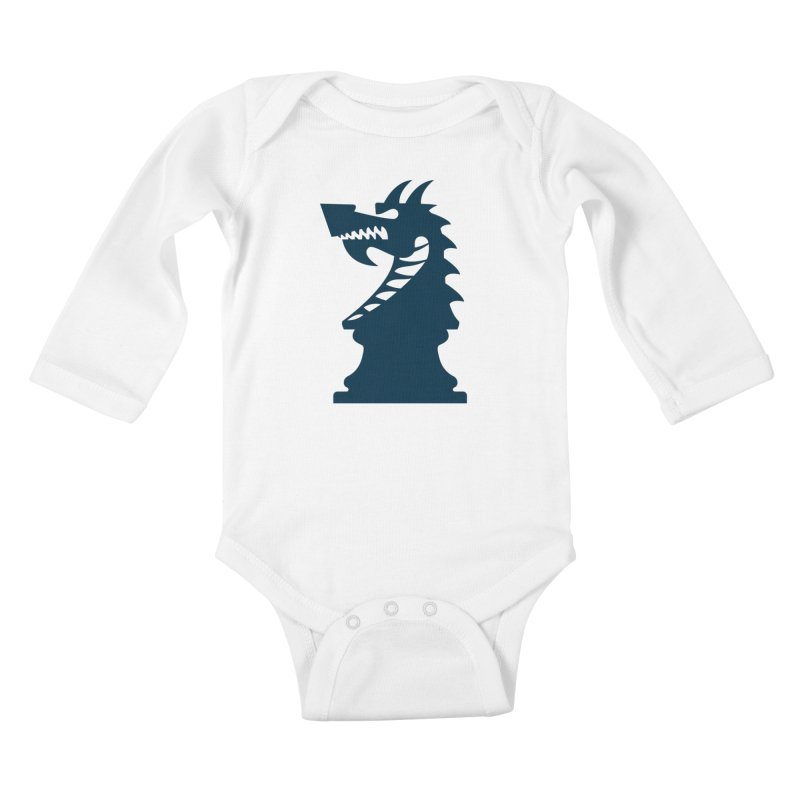 Wiggin - Dark Kids Baby Longsleeve Bodysuit by Dragon Army Gear