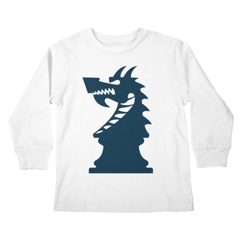 Wiggin - Dark Kids Longsleeve T-Shirt by Dragon Army Gear
