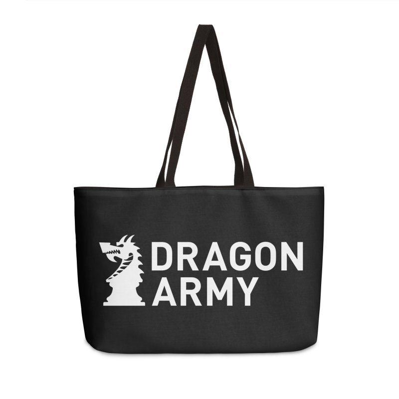 Classic - White Accessories Bag by Dragon Army Gear