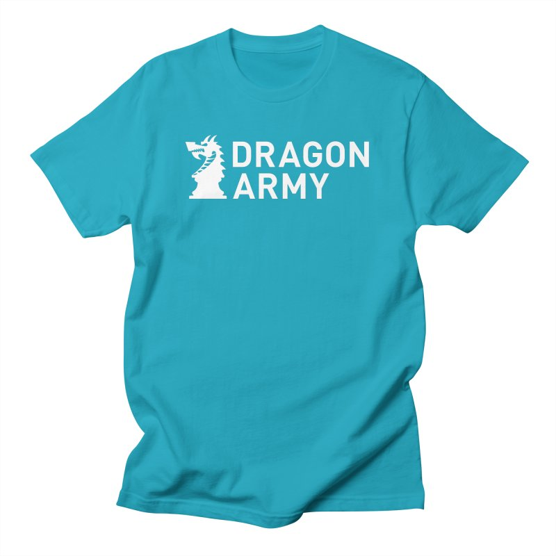 Classic - White Men's T-Shirt by Dragon Army Gear