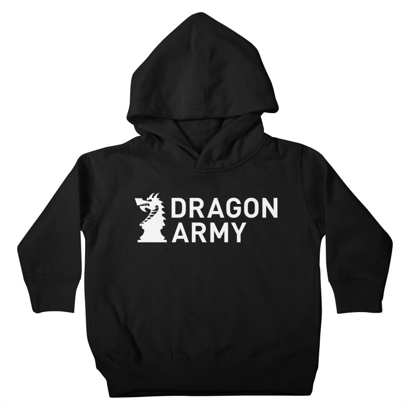 Classic - White Kids Toddler Pullover Hoody by Dragon Army Gear