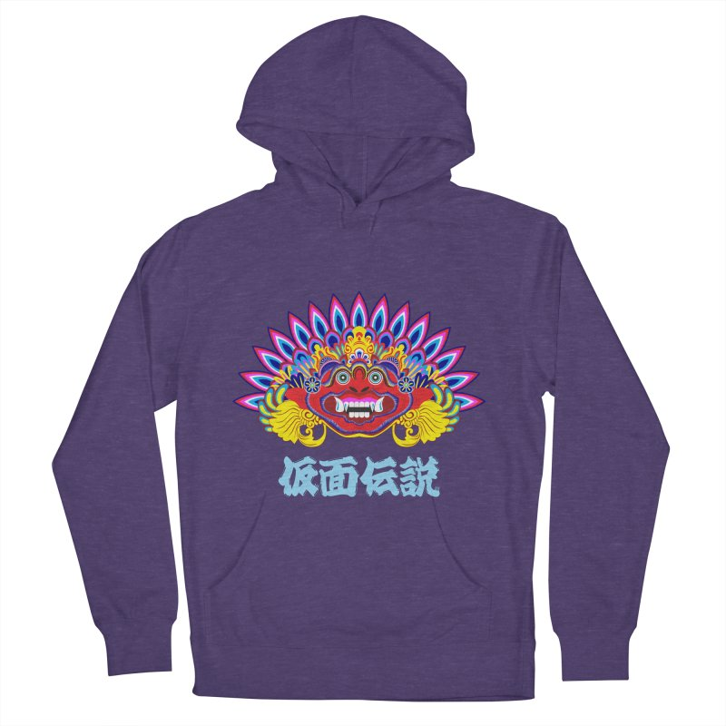 Legend of Mask Women's French Terry Pullover Hoody by Dragonstar's Artist Shop