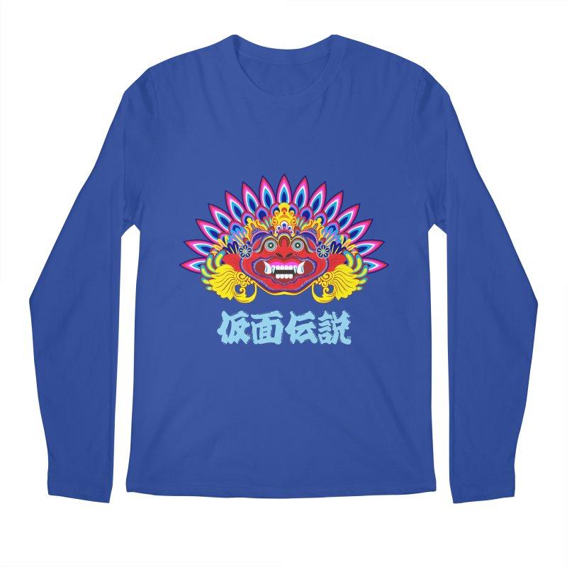 Legend of Mask Men's Regular Longsleeve T-Shirt by Dragonstar's Artist Shop