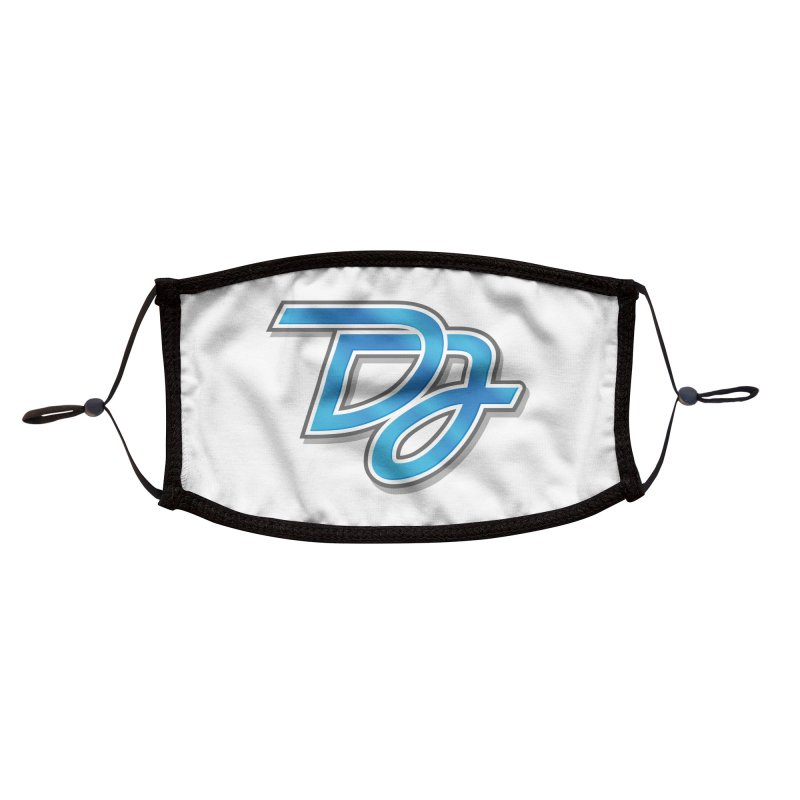 Drake Jensen Logo (Centered) Accessories Face Mask by Drake Jensen's Artist Shop