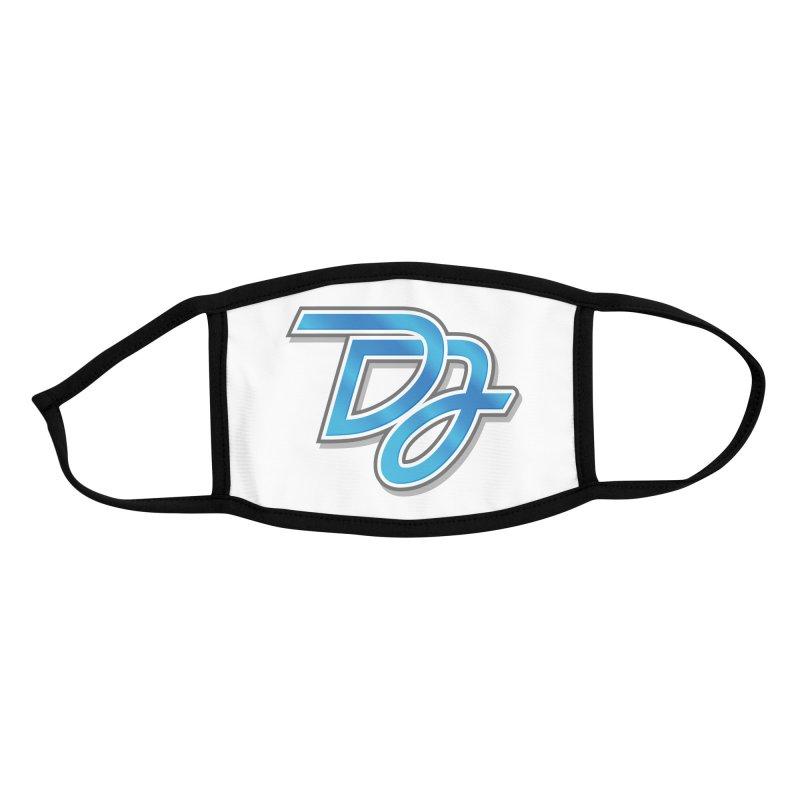 Drake Jensen Logo (Centered) Accessories Face Mask by Drake Jensen's Artist Shop