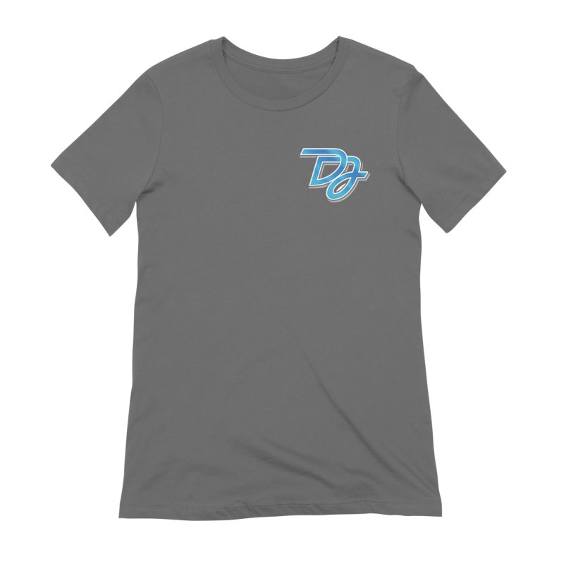 Drake Jensen Logo (Breast) Women's T-Shirt by Drake Jensen's Artist Shop