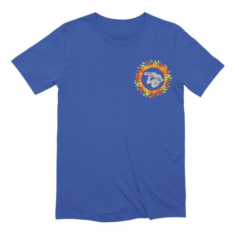 Burn The Floor Logo (Breast) Men's T-Shirt by Drake Jensen's Artist Shop