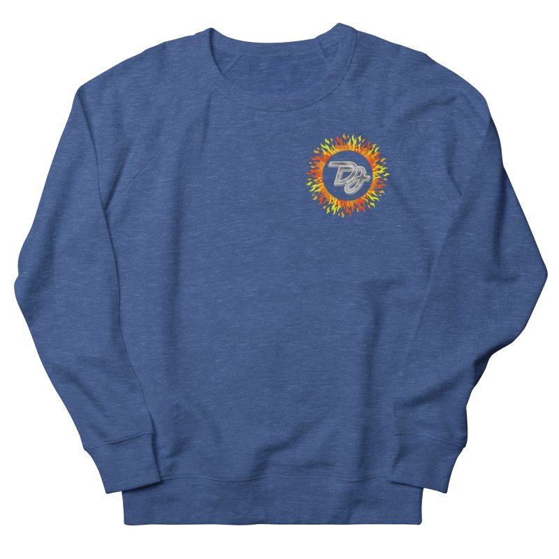 Burn The Floor Logo (Breast) Men's Sweatshirt by Drake Jensen's Artist Shop