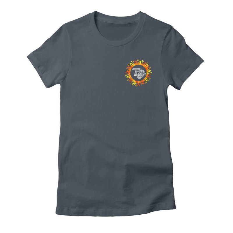 Burn The Floor Logo (Breast) Women's T-Shirt by Drake Jensen's Artist Shop