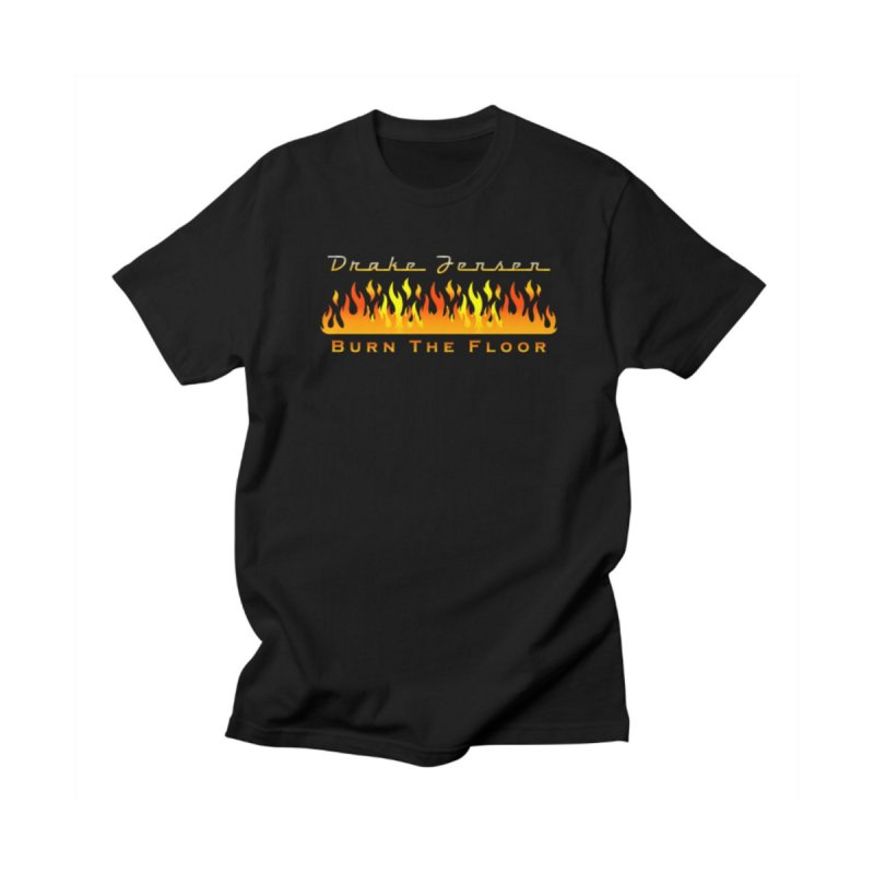 Burn The Floor Full Logo (Centered) Women's T-Shirt by Drake Jensen's Artist Shop