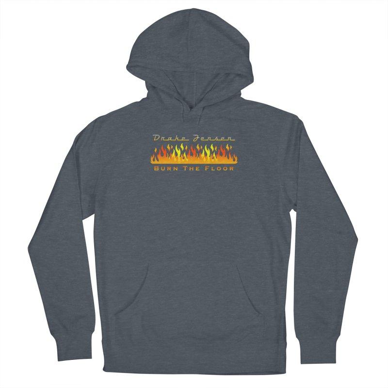 Burn The Floor Full Logo (Centered) Women's Pullover Hoody by Drake Jensen's Artist Shop