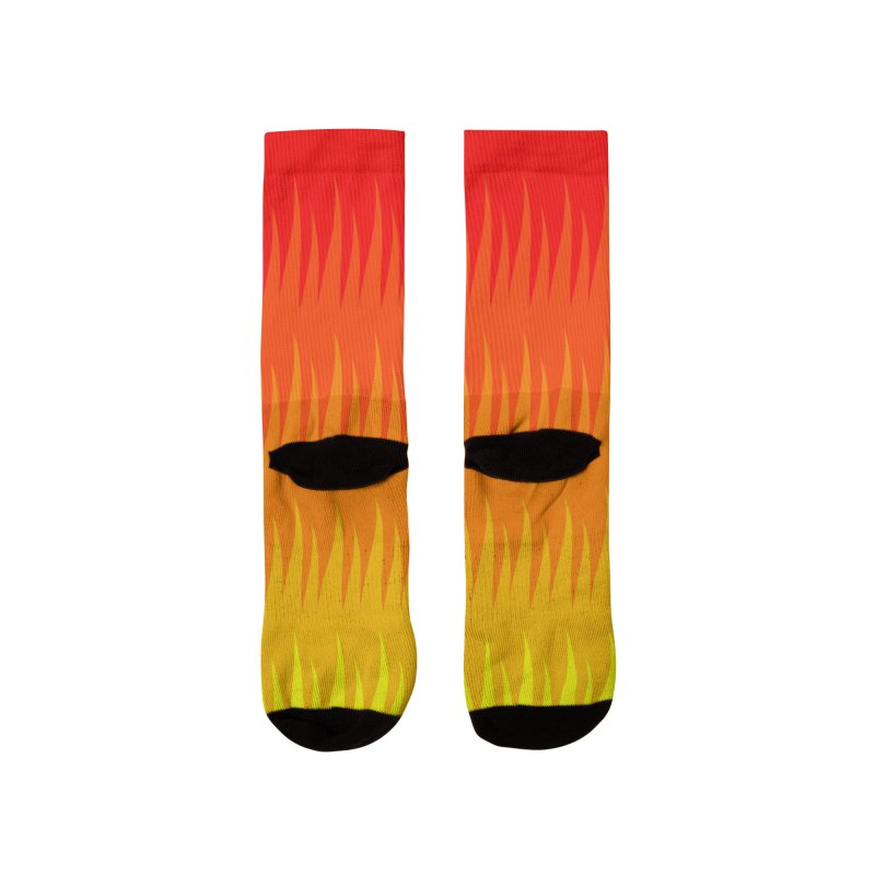 Burn The Floor Socks Women's Socks by Drake Jensen's Artist Shop
