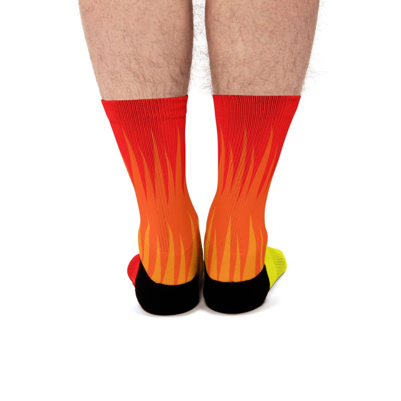 Burn The Floor Socks Men's Socks by Drake Jensen's Artist Shop