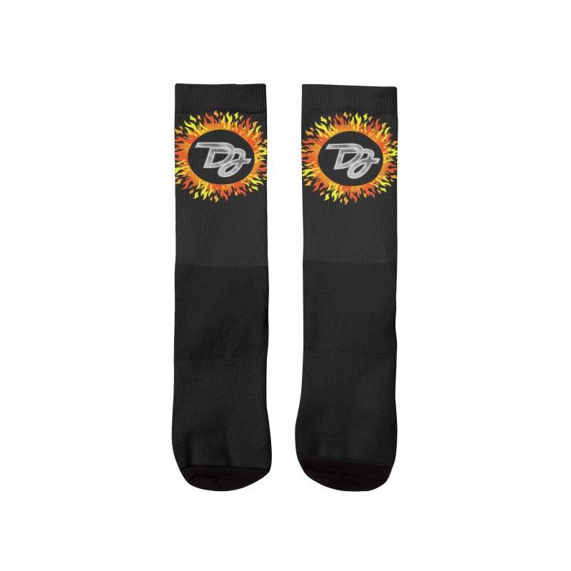 Burn The Floor Logo Socks Women's Socks by Drake Jensen's Artist Shop