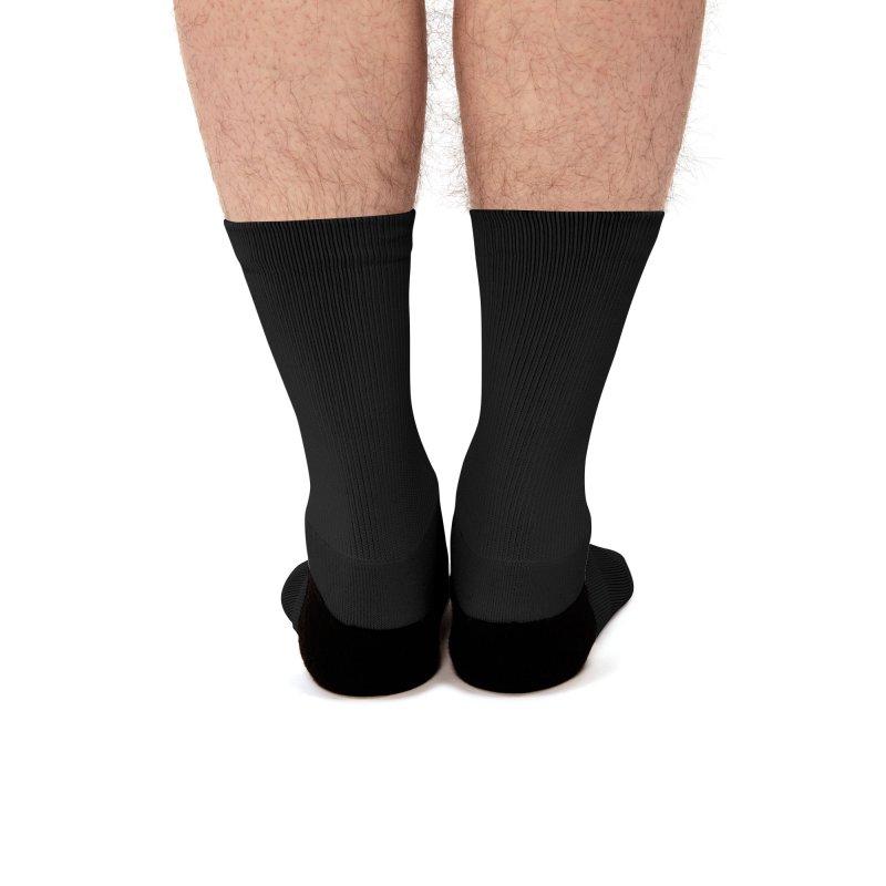 Burn The Floor Logo Socks Men's Socks by Drake Jensen's Artist Shop