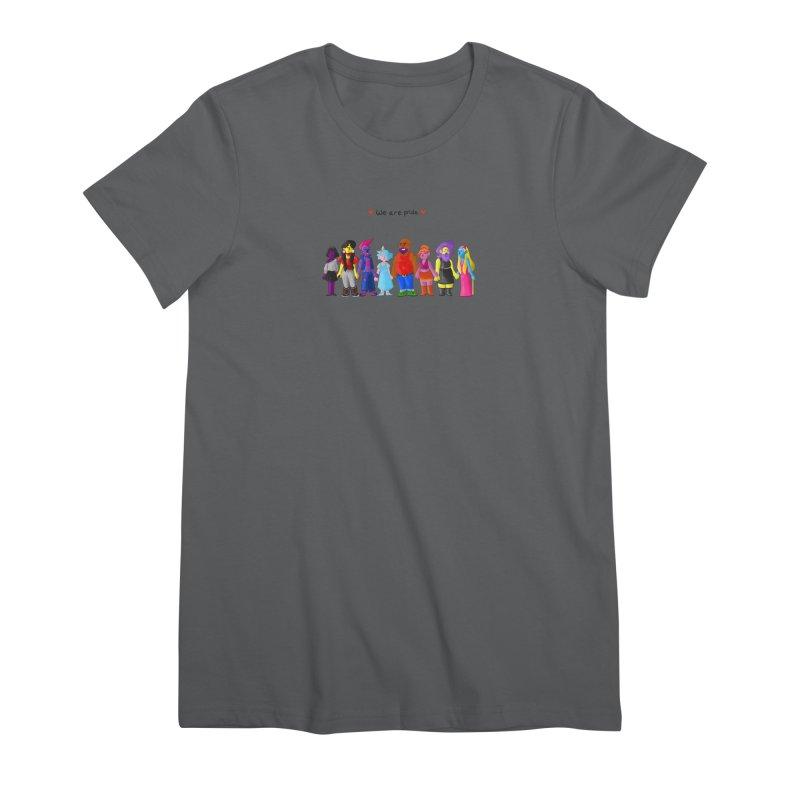 We Are Pride Women's T-Shirt by Drake Jensen's Artist Shop