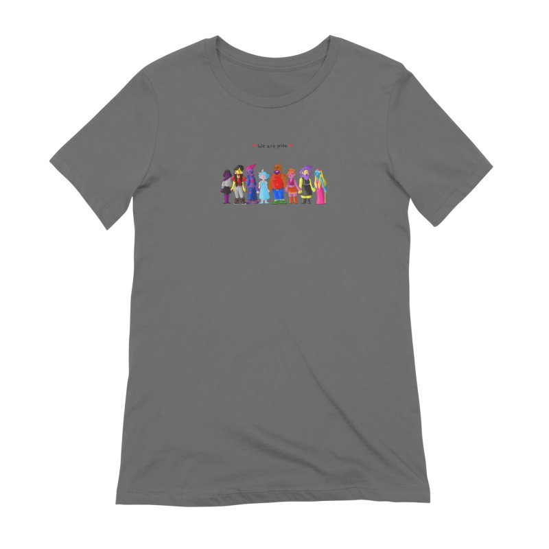 We Are Pride Women's T-Shirt by Drake Jensen's Artist Shop