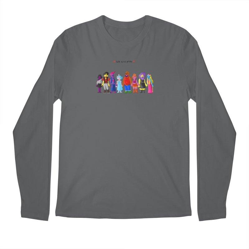 We Are Pride Men's Longsleeve T-Shirt by Drake Jensen's Artist Shop