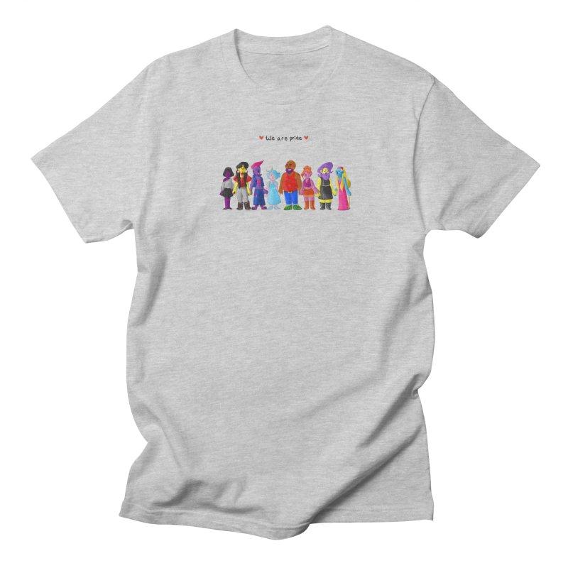 We Are Pride Men's T-Shirt by Drake Jensen's Artist Shop